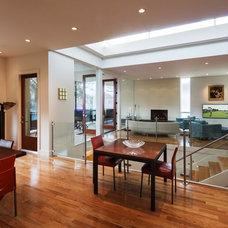 Contemporary Dining Room by Jeffrey Harrington Homes