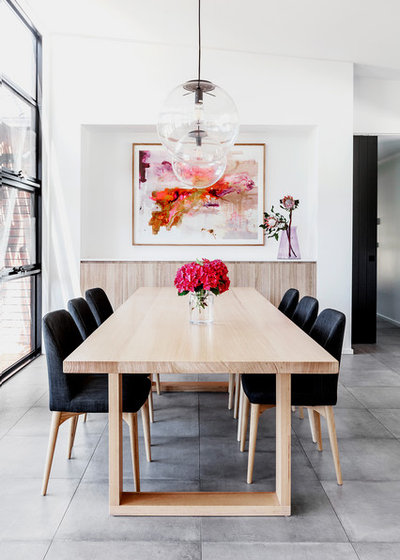 Contemporary Dining Room by Dylan Barber Building Design