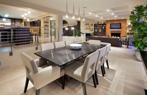 Contemporary Dining Room by Kollin Altomare Architects