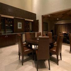 Contemporary Dining Room by Aurelio Vazquez