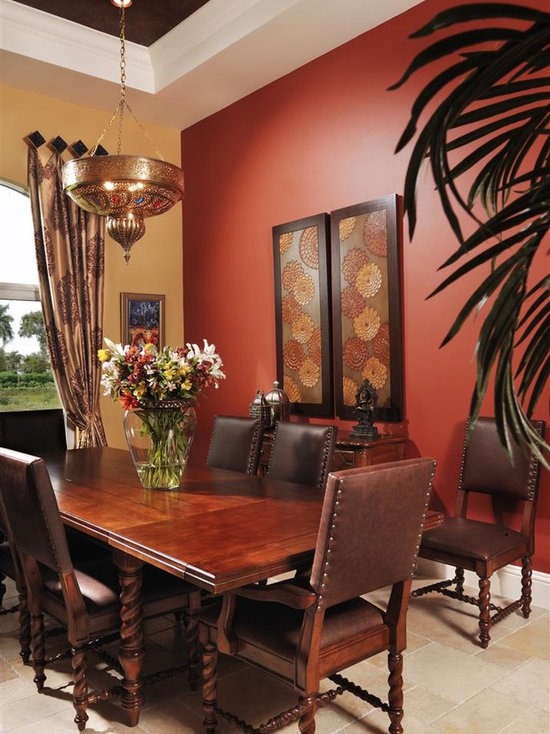 red wall color | houzz