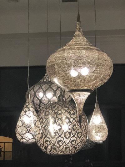 Mediterranean Dining Room by Dascal Designs LLC