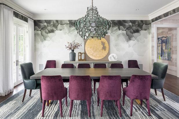 Nyklassisk Matplats by Studio Aubergine Interior Design