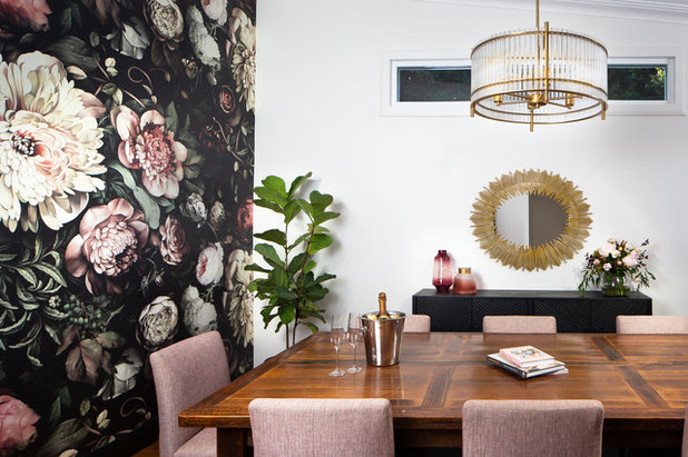 Contemporary Dining Room by Style & Design