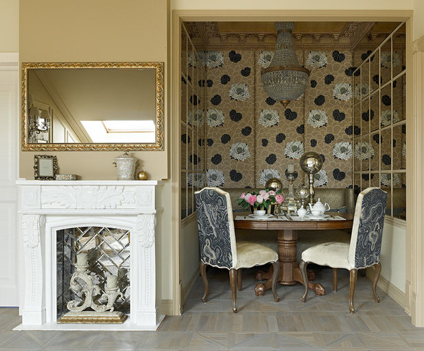 Traditional Dining Room by Olga Ashby Interiors
