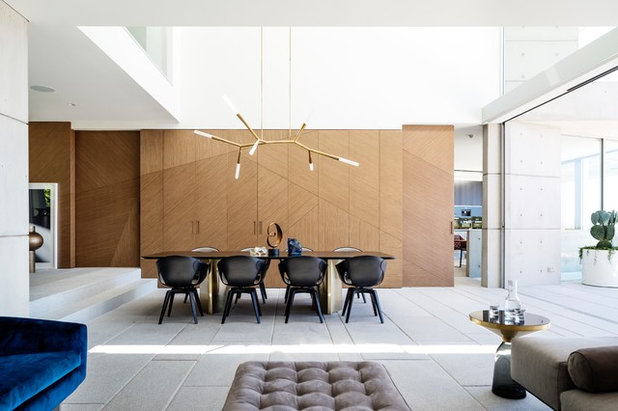 Contemporary Dining Room by TKD Architects
