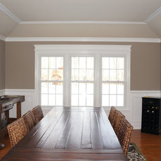 Traditional Dining Room by Board & Batten
