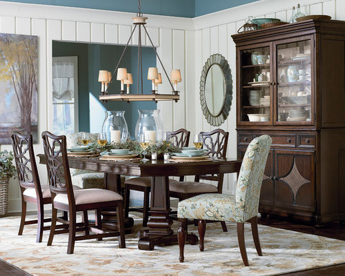 SaveEmail Moultrie Park Double Pedestal Dining Table By Bassett Furniture