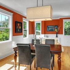 Craftsman Dining Room by LimeLite Development