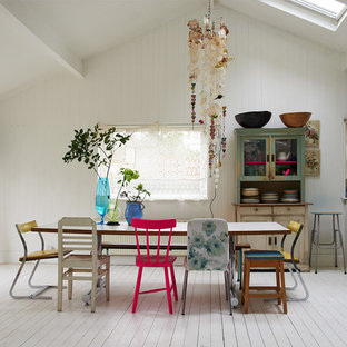 Shabby-Look Esszimmer in London