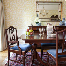 Traditional Dining Room by Rachel Oliver Design, LLC