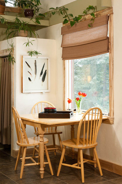 rustic dining room by Mindful Designs, Inc.
