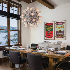 Rustic Dining Room by Abby Hetherington Interiors
