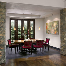 Contemporary Dining Room by Mosaic Interiors SF