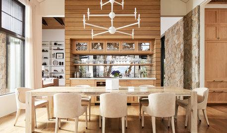 Kücheninsel, Kapsel, Kamin… 5 Ideen der Woche für Raumtrenner