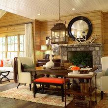 Mountain House by Robert Brown Interior Design