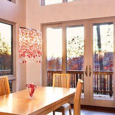 Modern Dining Room by Johnston Design Group