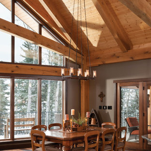 Mountain Timber Frame Home in Canada