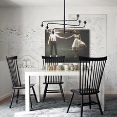 Contemporary Dining Room by Studio Revolution