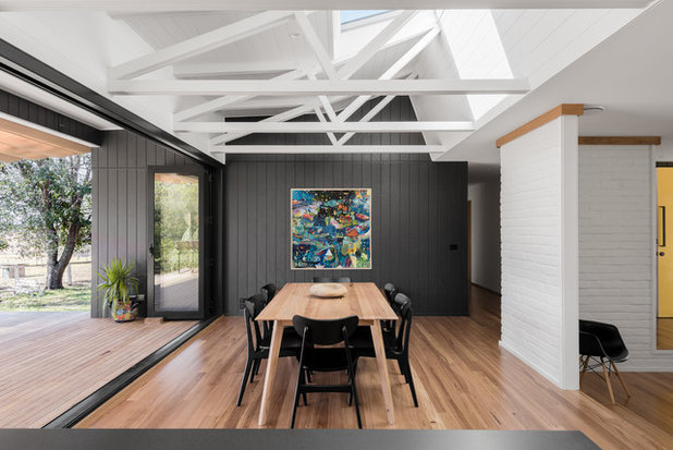 Midcentury Dining Room by Benedict Design