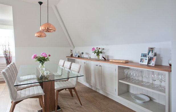 Transitional Dining Room By Mike Taylor Bespoke Kitchens