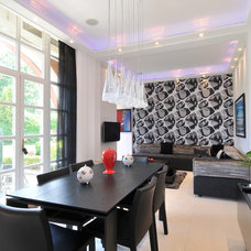 Contemporary Dining Room by Diane Berry Kitchens