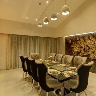 Dining room - modern dining room idea in Bengaluru