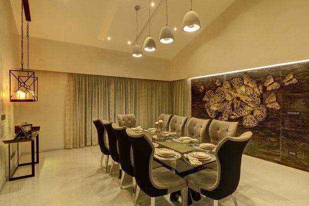 Modern Dining Room by ALEX JACOB ARCHITECT