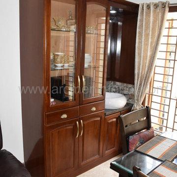 Mrs.Ganga Muralidharan, 2 BHK Apartment Interior Design   Mandhaveli, Chennai
