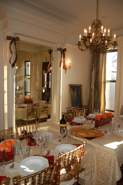 Traditional Dining Room by Brooklyn Limestone