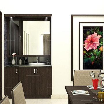 Mrs.Porchelvi House Interior Design   Perambur, Chennai