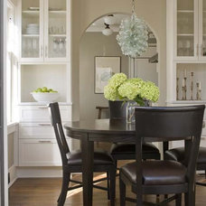 craftsman dining room by Bosworth Hoedemaker