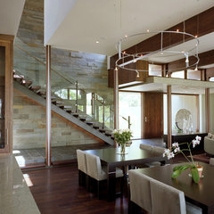 contemporary dining room by McKinney York Architects
