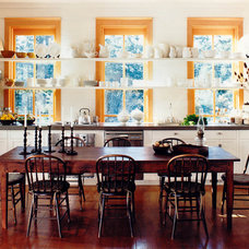 Rustic Dining Room by Bosworth Hoedemaker