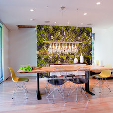 Midcentury Dining Room by Coop 15 Architecture
