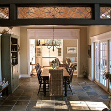 Traditional Dining Room by Liz Hause Interior Design
