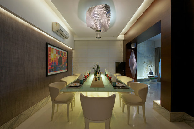 Contemporary Dining Room by ZZ Architects