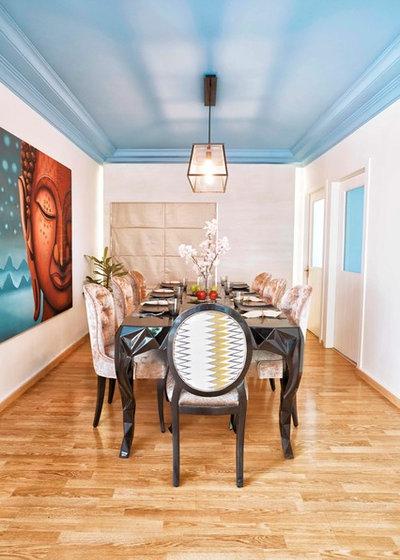 Contemporary Dining Room by NaCL- Natasha Aggarwal   Creative Living