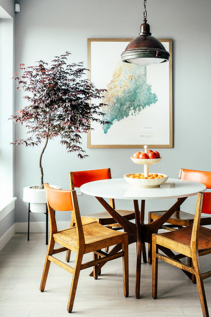 Contemporary Dining Room by Landing Design