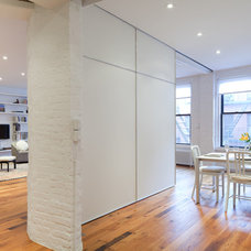 Contemporary Dining Room by I-Beam Design