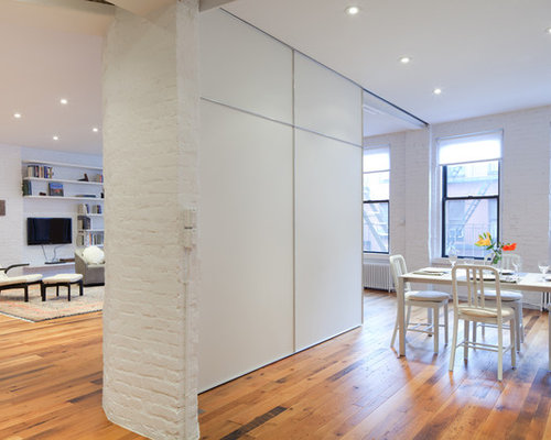 Sliding wall houzz for Sliding partition walls for home