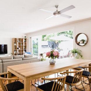 Scandinavian dining room in Melbourne.