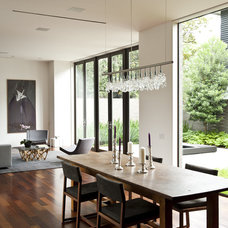 Contemporary Dining Room by Workshop M Architecture