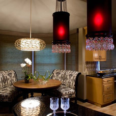 Contemporary Dining Room by Cynthia Pastor Design