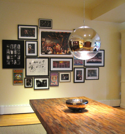 Eclectic Dining Room by ILevel