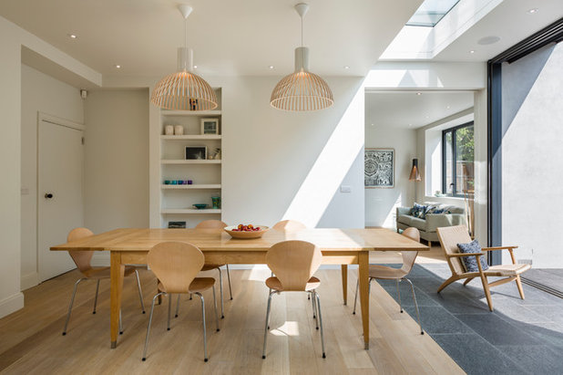 Scandinavian Dining Room by Jones Associates Architects