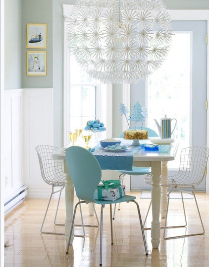 contemporary dining room by Restyled Home