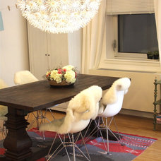 Eclectic Dining Room by nat the fat rat