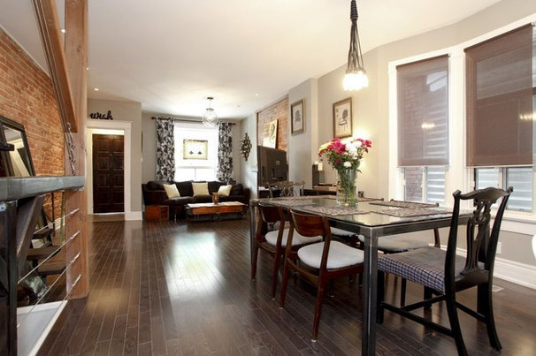 Eclectic Dining Room by Realty Queen Toronto