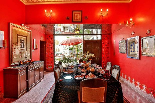Indian Dining Room by Shan Bhatnagar Designs